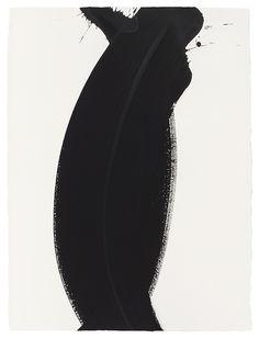 HIROKO Nakajima *1948  Zusammenfluss d  Acryl auf Bütten  2012  77,7 x 58 cm
