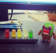 Hey gummies! Watch out for Domo Libre!