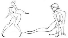 Figure drawing tips for gestural drawing; 3 Mistakes You Make When Drawing the Figure at ArtistsNetwork.com