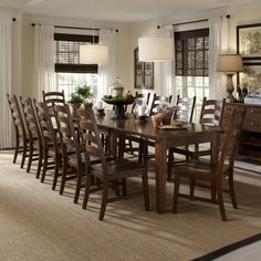 Sunday Dinner Table Large Dining Room Table Wainscotingamerica - Dinner table for 12