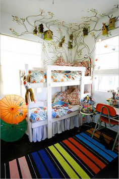 Bedroom , 30 Great Ideas for Shared Kids Room : Shared Kids Room Creative Two Kids Bedroom