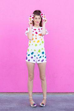 32 Sorprendentes disfraces para hacer tú misma que demuestran que Halloween está pensada para adolescentes