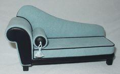 fantastico divano moderno in damasco o by francescavernuccio 1/12th scale chaise lounge