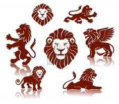 Lions Silhouettes set by Abrams A set of lions illustrations Main file: vector *.EPS each lions separated by layers Additional formats:Hi-res layered PSD with t Wing Tattoo Arm, Forearm Tattoos, Lion Silhouette, Watercolor Tattoo Tree, Small Flower Tattoos, High Art, Lion Tattoo, Animal Logo, Tatoo