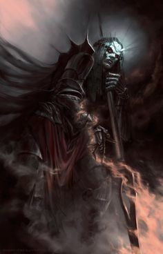 Morgoth, He Who Arises In Might by DymondStarr.deviantart.com on @DeviantArt