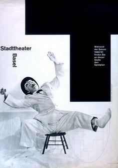Stadttheater Basel, 1960 — Armin Hofmann