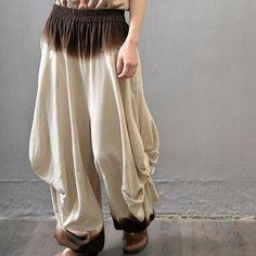 5b008bf22c6 Women plus size linen Harem pants