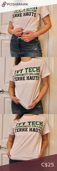I just added this listing on Poshmark: Ivy Tech Community College Terre Haute T-Shirt. #shopmycloset #poshmark #fashion #shopping #style #forsale #Gildan #Other Band Shirts, Tee Shirts, Ivy Tech, Canvas Shirts, Business Shirts, Concert Tees, Community College, Tour T Shirts, T Shirts