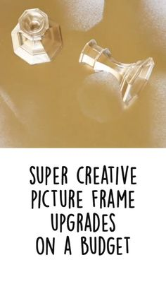 Upcycled Home Decor, Easy Home Decor, Diy Home Crafts, Crafts To Do, Picture Frame Crafts, Picture Frames, Cheap Christmas Gifts, Budget Home Decorating, Do It Yourself Home