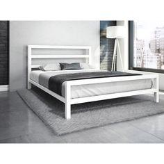 Vicksburg Metal Platform Bed - Bed and Bedcover Welded Furniture, Iron Furniture, Furniture Design, Steel Furniture, Fine Furniture, Vintage Furniture, Furniture Ideas, Bedroom Furniture Makeover, Modern Bedroom Furniture