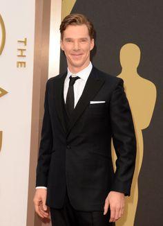 Benedict Cumberbatch at the Oscars