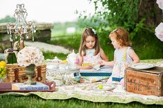 Vintage Tea Party - Gina Cristine Photography