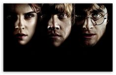 Hermione, Ron And Harry Potter wallpaper