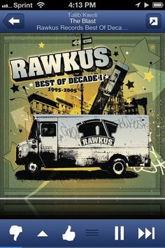 A Rawkus Compilation was a highly coveted item for hip hop heads.  This one represents an entire era of legendary.