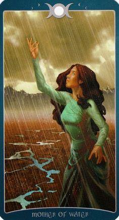 Chi tiết Lá Mother of Water - Book of Shadows Tarot (As Above) bài tarot Xem thêm tại http://tarot.vn/la-mother-water-book-shadows-tarot/