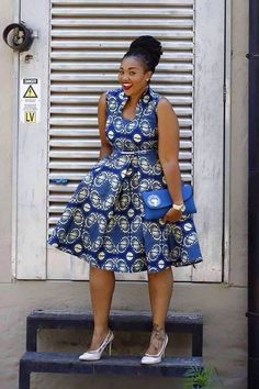 ♡African Print in Fashion … – African Fashion Dresses - African Styles for Ladies Latest African Fashion Dresses, African Inspired Fashion, African Dresses For Women, African Print Dresses, African Print Fashion, Africa Fashion, African Attire, African Wear, African Women