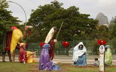 #RiodeJaneiro district #JardimdeAlah festival de presépios acontece até o Natal