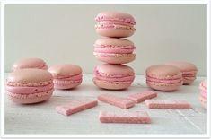 Macarons de chicle. Bubble gum Macarons.