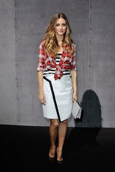 THE OLIVIA PALERMO LOOKBOOK By Marta Martins: Paris Fashion Week 2014 : Olivia Palermo At Andrew GN