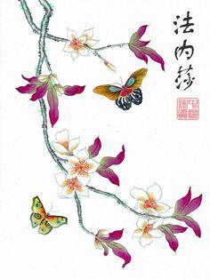 peinture chinoise 法内莎