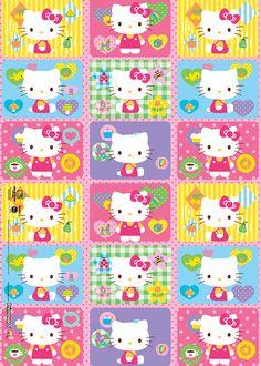 Empaques de Hello Kitty para personalizar tus bolsas