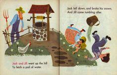 Baby's Mother Goose. Illustrated by Aurelius Battaglia (1948) - 13