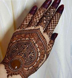 Rose Mehndi Designs, Back Hand Mehndi Designs, Latest Bridal Mehndi Designs, Stylish Mehndi Designs, Mehndi Designs For Girls, Mehndi Design Photos, Wedding Mehndi Designs, Mehndi Designs For Fingers, Beautiful Mehndi Design