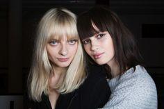 I nuovi tagli di capelli corti: la frangia