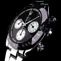 Rolex watch black