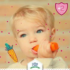 Las zanahorias pueden ser difíciles de comer para tu pequeño. Una buena solución para esto es hacerlas puré o hervirlas.