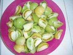 Προμαχιώτικα Νέα: ΦΤΙΑΞΤΕ ΝΤΟΜΑΤΕΣ ΠΡΑΣΙΝΕΣ ΤΟΥΡΣΙ. Honeydew, Sprouts, Lime, Vegetables, Fruit, Food, Limes, Essen, Vegetable Recipes
