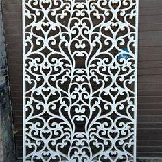 6 Border Cutting File For Laser, Cnc & Plasma, Cricut Floral Wall Stencil, Decorative Elegant Border Stencils