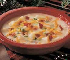 Diabetic Recipes - Diabetic Baked Potato Soup Recipe