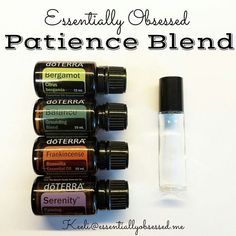 """231 Likes, 33 Comments - Keeli Martinez (@essentiallyobsessed) on Instagram: """"I have been loving my #TantrumTamerBlend on my daughter so I whipped up a #PatiencesBlend for mommy…"""" Doterra Oils, Doterra Blends, Doterra Diffuser, Essential Oil Diffuser, Natural Essential Oils, Essential Oil Blends, Diffuser Blends, Patience, Fractionated Coconut Oil"""