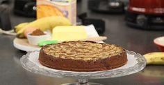 Geef de boterkoek een verrassende draai. Maak er een chocolade boterkoek met banaan van. Verrassend lekker! Kijk hier voor het recept.
