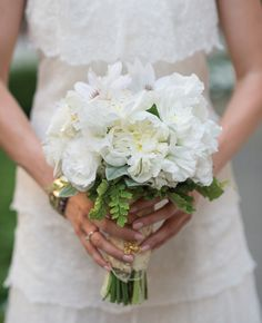 White Rose and Lace Bouquet White Peonies Bouquet, Lace Bouquet, Calla Lily Bouquet, Bride Bouquets, Bridesmaid Bouquet, White Roses, Lisianthus Bouquet, Purple Wedding, Floral Wedding