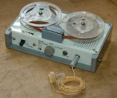 Open tape record-player