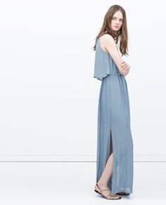 Image 1 of LONG LAYER DRESS from Zara