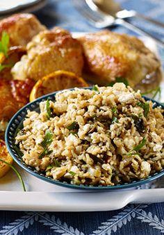 One Pot Greek Chicken Spanakorizo - riceinfo.com