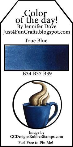 Copic Color Combo- True Blue