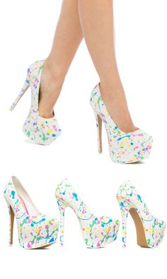 An Eye-Catching Print on a Towering Pump is just what your Street Style needs for that Extra Dose of Allure. Limited Time Only From June 24th 2015 to July 10th 2015 Get 2 Pairs for $39.95 Free Shipping! Discover These Trendy Shoes And Other Styles by First Taking Our Style Quiz To Take Advantage Of This Offer!
