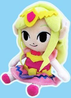 AmiAmi [Character & Hobby Shop] | The Legend of Zelda: The Wind Waker HD Plush - Princess Zelda S Size(Released)