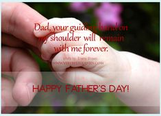 Insipirational Fathers Day Messages, wishes from daughter: The relationship of Father and son is like King and Princess. For every father his daughter