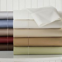 Royal Velvet 400tc WrinkleGuardTM Sheet Set - home and bedding (cotton sateen bedroom decor)