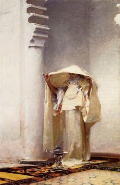 John Singer Sargent: Fumée d'ambre gris (1880)