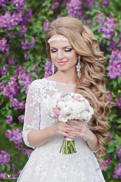 Свадебные причёски : на природе фото : 294 идей 2017 года на Невеста.info