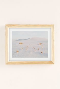 Slide View: 2: Kevin Russ White Sands Art Print