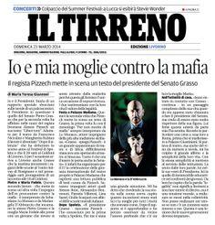 """23 marzo 2014 - Il Tirreno - intervista ad Alessio Pizzech regista dello spettacolo """"Dopo il Silenzio"""""""
