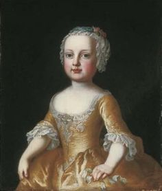 Maria Amalia of Austrai. Eldest daughter of Maria Theresa. She was born with some type of birth defect which meant that she did not marry. She was made an abbess of one of the empires convents.