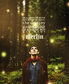 About to start watching Merlin...why do I feel like this is gonna be bad for my feels?